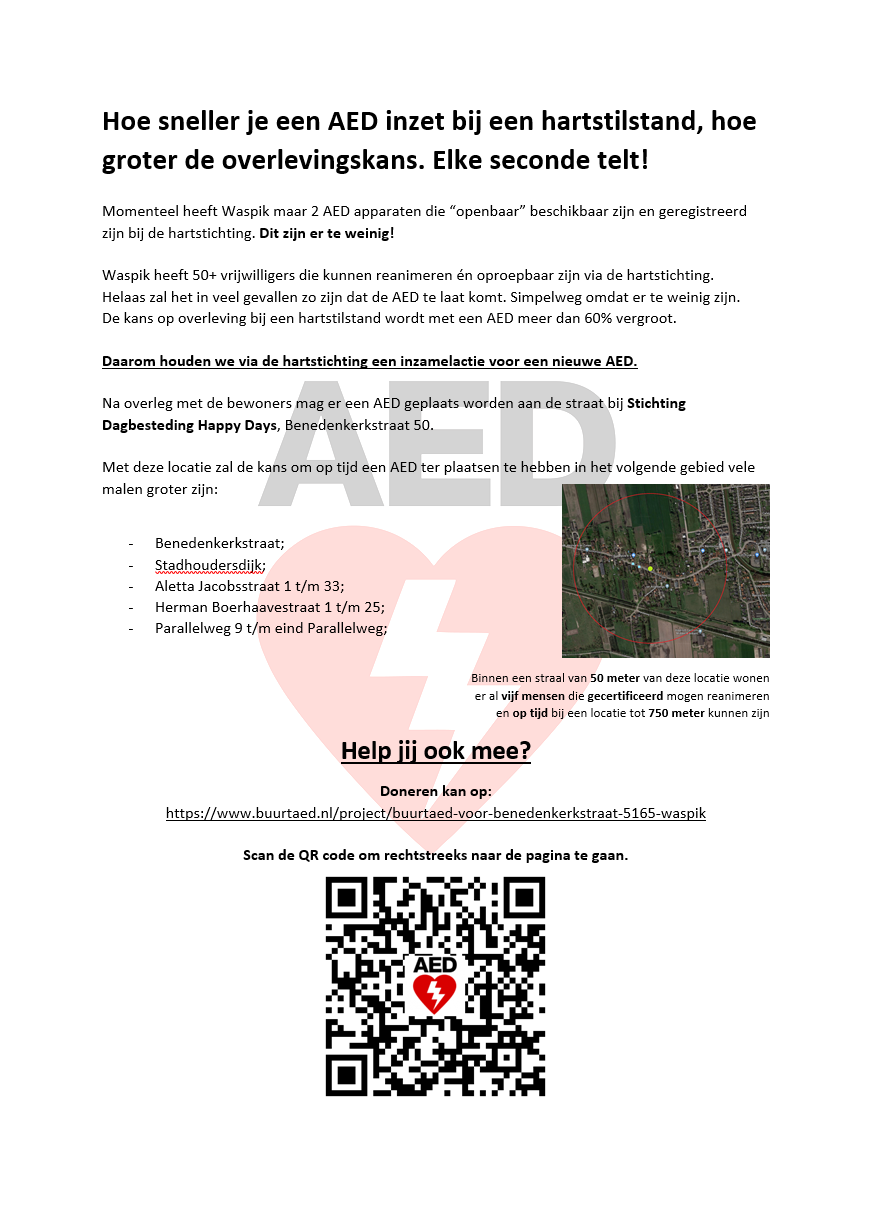 AED Flyer